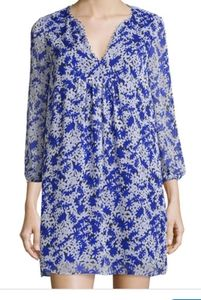 DIANE von Furstenberg silk aria shift dress